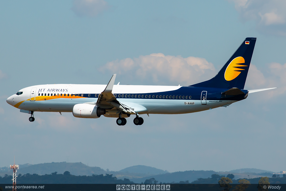 737 Jet Airways Gol