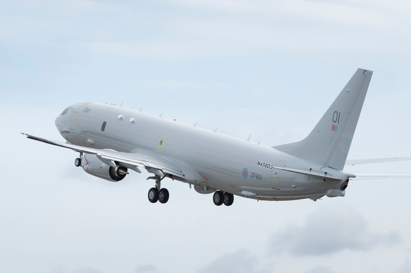 UK P-8A First Flight