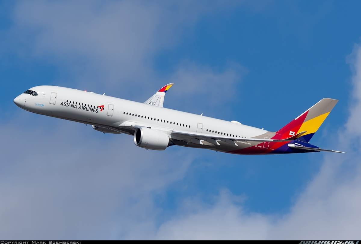 Airbus A350 Asiana