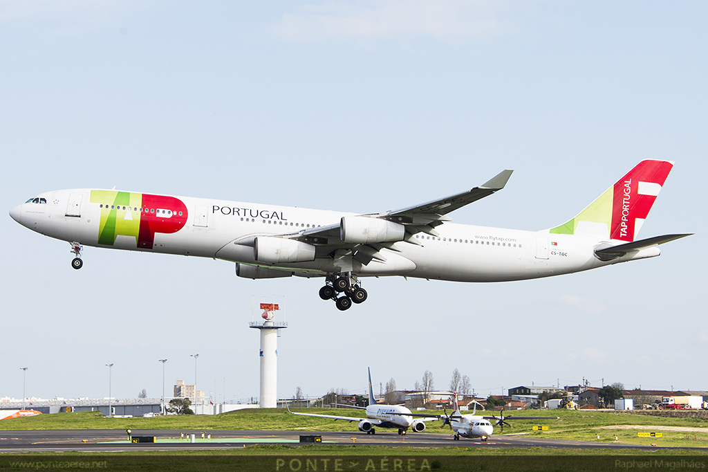 Airbus A340-300 A343 TAP TP Portugal