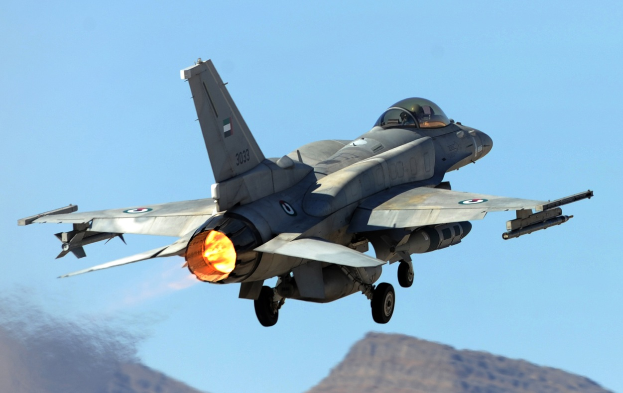 F-16 UAE Red Flag